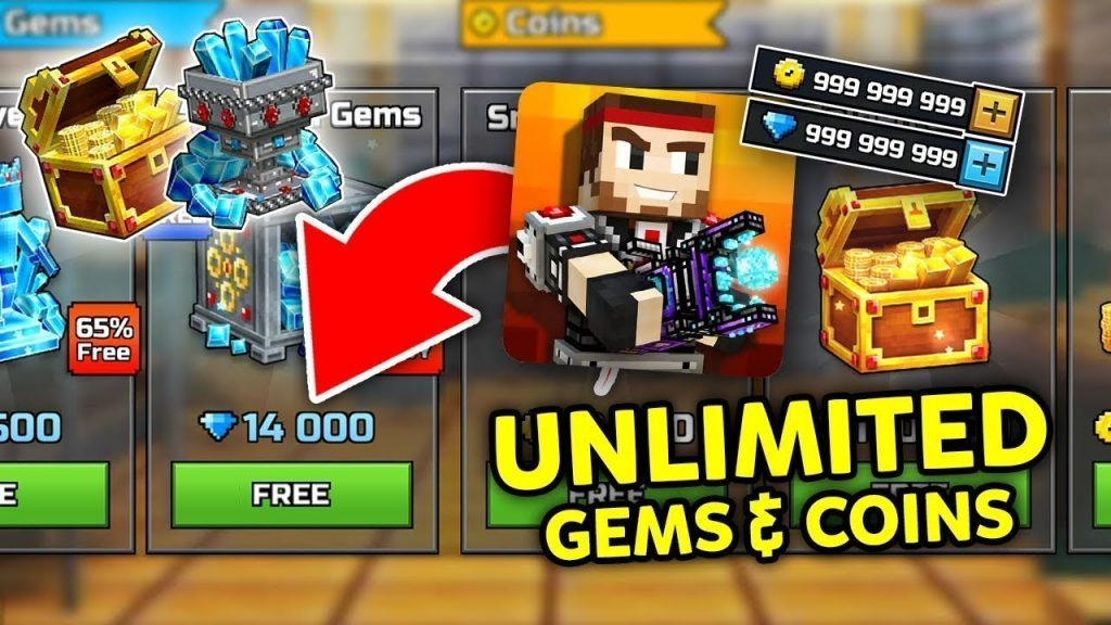 pixel gun 3d hack gems and coins