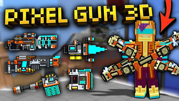 Everything you need to know about pixel gun 3D